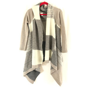 Chicos Womens Sweater Cardigan Open Front Cozy